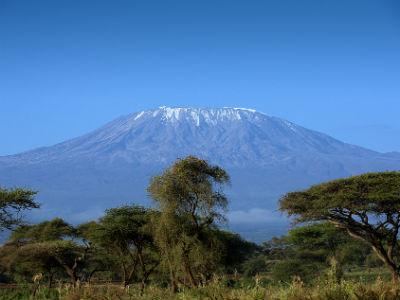 Kilimanjaro på en rejse til Tanzania
