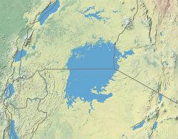 Viktoriasøen og dens grænser