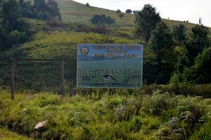 Indgang til Kitulo nationalpark