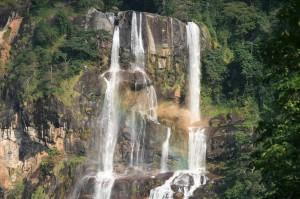 Udzungwa nationalpark og Sanje vandfald