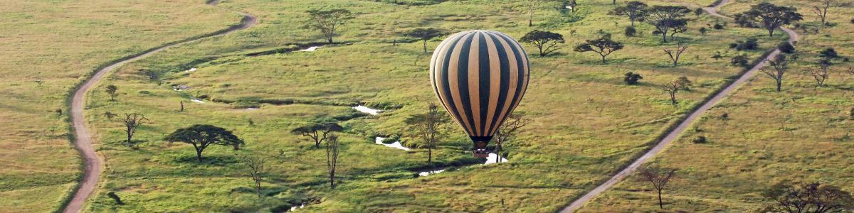 Ballonsafari i Tanzania
