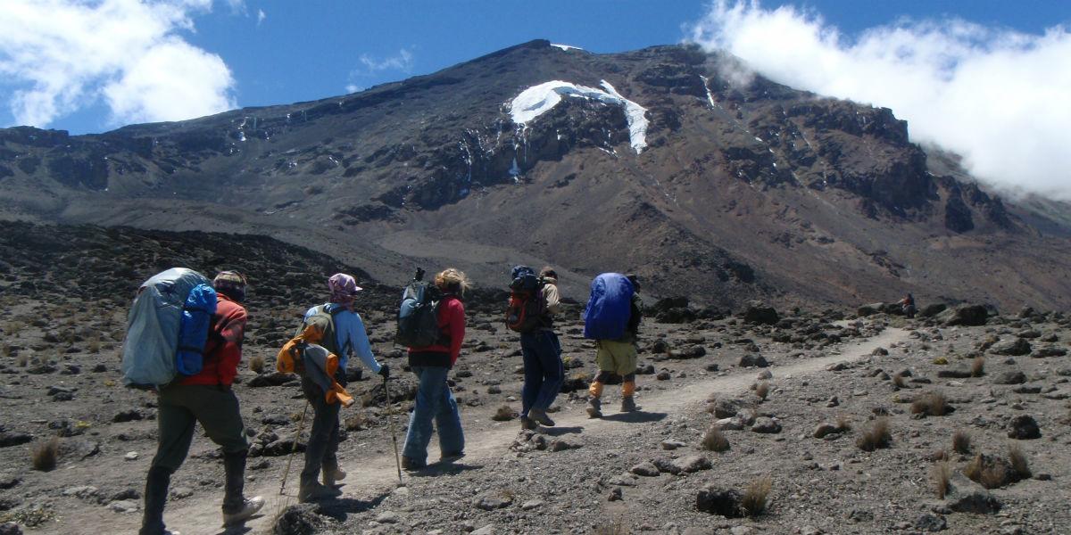Bestigning af Kilimanjaro med guide og portør