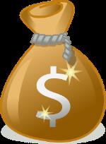 Pose med penge - opsparing