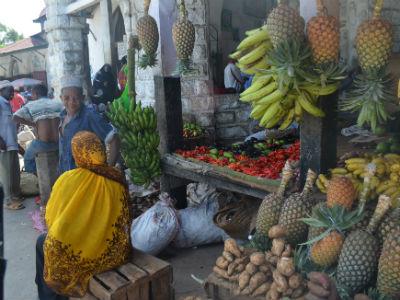 Marked på Zanzibar