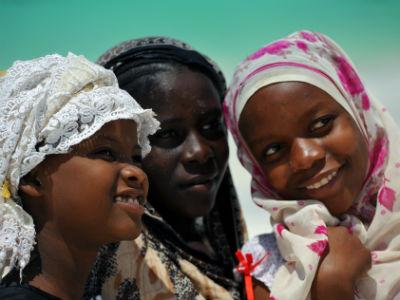 Zanzibar piger