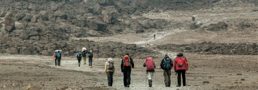 Kilimanjarotrekking