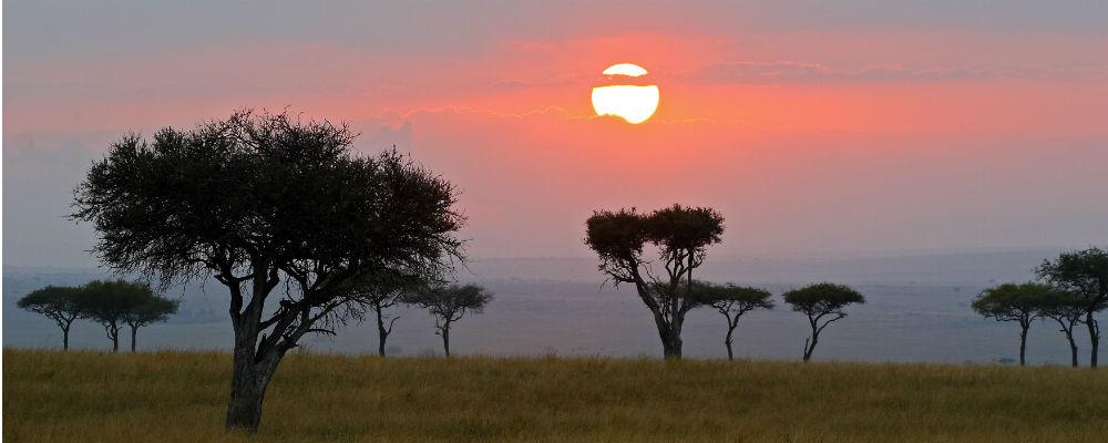 solnedgang tanzania